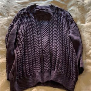 NYDJ 3/4 Cable sweater XL